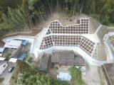 浮田鳥越地区急傾斜地崩壊対策工事