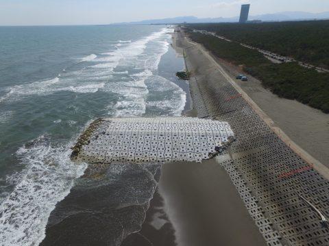 平成28年度宮崎海岸第2補助突堤工事