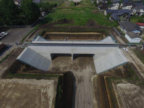 宮崎10号南横市地区第4号函渠設置工事