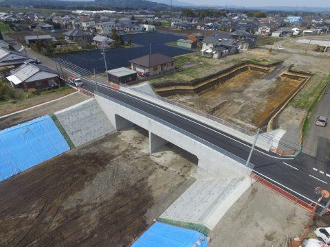 宮崎10号蓑原地区第5号函渠設置外工事